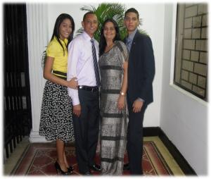 Familia del misionero